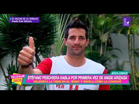 Stefano Peschiera habla por primera vez de Angie Arizaga - Válgame Dios