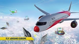 Euro Flight Simulator 2018 #2 Landing in Greece with last plane - Best Android GamePlay FHD