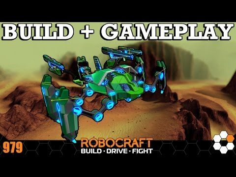 Robocraft - Impossible Not To Have Fun With This Robot - BUILD And GAMEPLAY