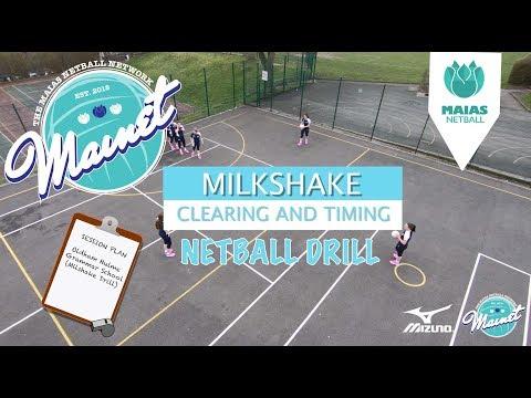 Netball Drills - Milkshake