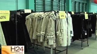 В манеже Дворца спорта открылась выставка-продажа меха и кожи(В манеже Дворца спорта открылась выставка-продажа меха и кожи