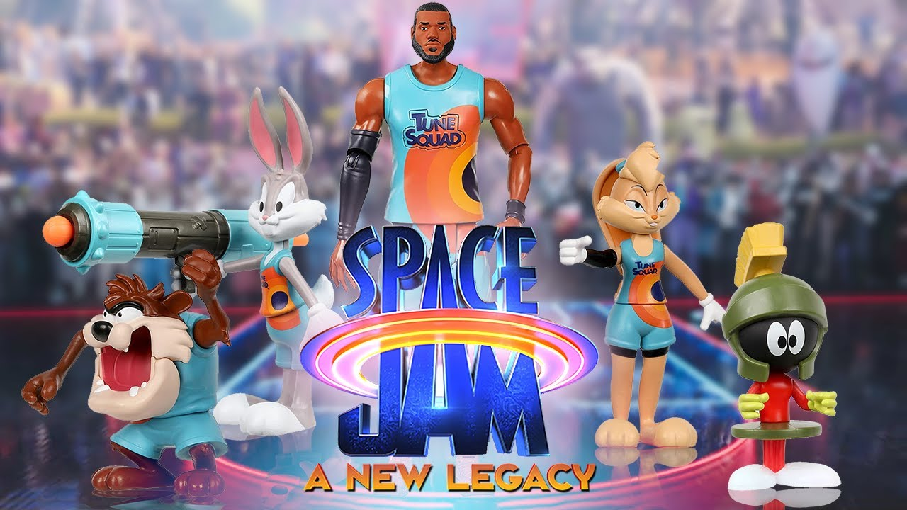 Space Jam A New Legacy Toys 2021 - YouTube