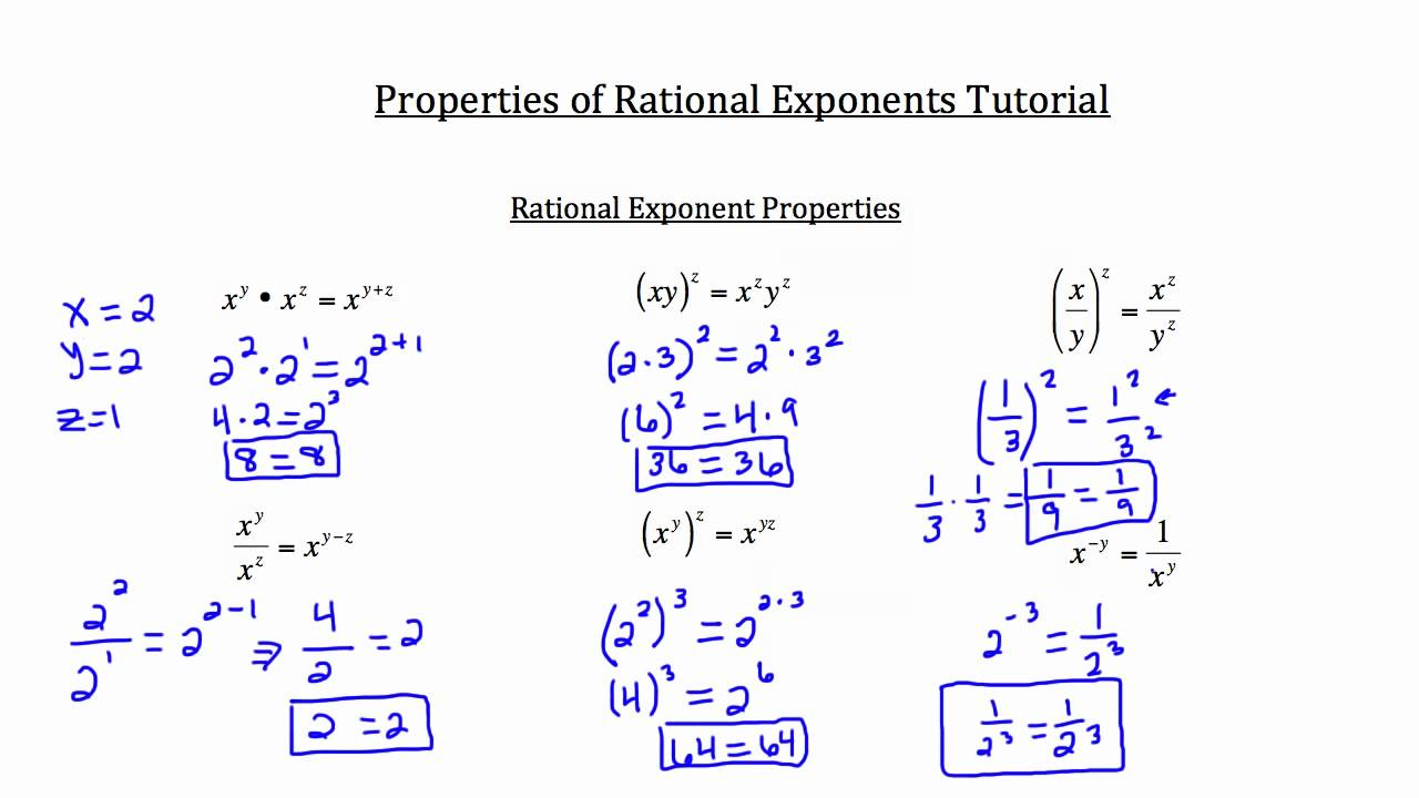 Division properties exponents homework help Ssays for sale – Properties of Exponents Worksheet Answers