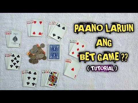 PAANO LARUIN ANG BET GAME CARD GAME?(TUTORIAL)