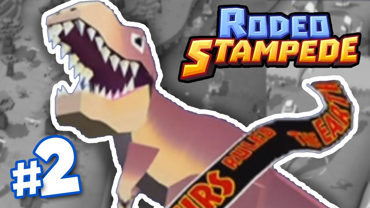 Dinosaurs Finally Rodeo Stampede Part 2 Youtube