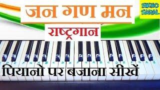 Jana Gana Mana (National Anthem) Easy and Slow Piano Tutorial With Notes