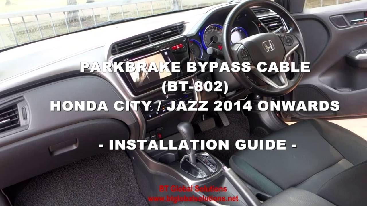 installation guide  parkbrake ebrake bypass cable doovi