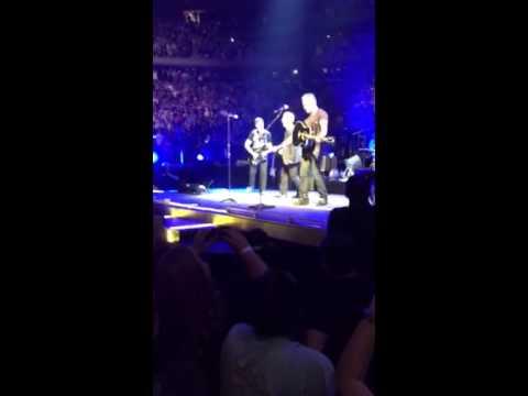 U2 & Bruce 7/31/15 encore
