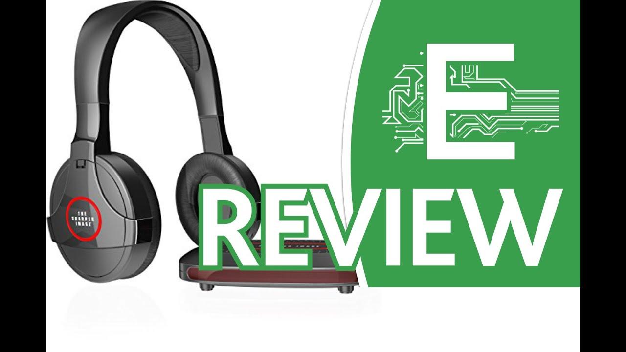 Sharper Image Shp921 Universal Wireless Headphones Review Youtube