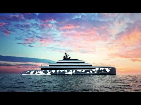 DP014 Moonstone Mega Yacht Concept by Oceanco