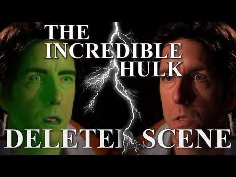 (sketch) The Incredible Hulk - RARE DELETED SCENE!