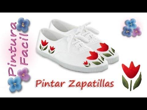 Como pintar zapatillas paint sneakers pintura facil para - Pintura para camisetas ...