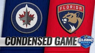 Winnipeg Jets vs Florida Panthers – Nov. 01, 2018 | Game Highlights | NHL 18/19 | Обзор матча