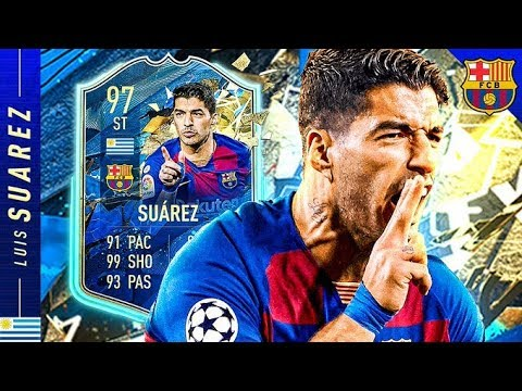 FIFA 17 SUAREZ IS BACK!!! 97 TEAM OF THE SEASON SUAREZ REVIEW! FIFA 20 Ultimate Team
