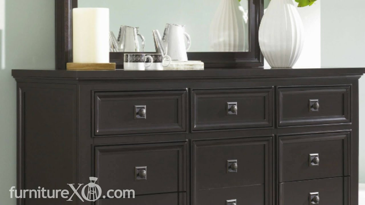 Martini Suite Platform Bedroom Set by Ashley Furniture - YouTube