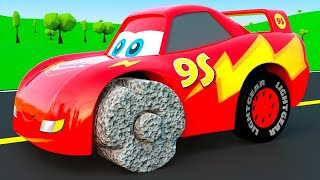 Cars with Ancient Wheels - And other Little Cars change color wrong Wheels, Color Garage stories