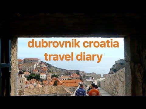 dubrovnik, croatia- travel diary