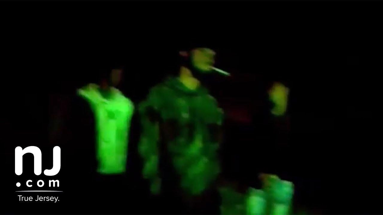 Camden cop shot by suspect: body cam footage