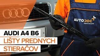Oprava AUDI A4 vlastnými rukami - video sprievodca autom