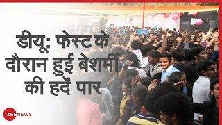 Gargi College की छात्राओं का दावा: दीवार लांघकर घुसे लोग, की छेड़खानी व अश्लील हरकतें