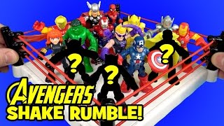 Avengers Toys Shake Rumble & Toy Opening + Spiderman Toys & Antman by KidCity