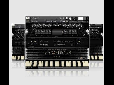 Sanfona Accordions 2 - Kontakt Library 2018 I Studio GBC