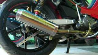 Yamaha Crypton 1997 with Flash Custom Muffler