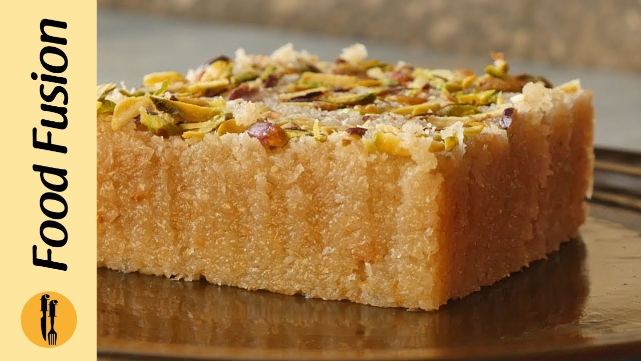 Coconut Barfi Recipe By Food Fusion