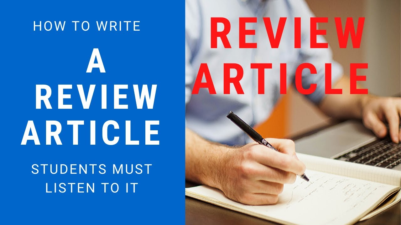 How To Write A Review Article | Tips | Urdu / Hindi