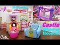 Princess Playhouse Playtime! Inflatable Bouncer and Playhouse. Princess' Horse Carriage. Ball Pit