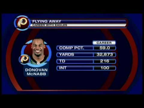 Redskins Land Donovan McNabb
