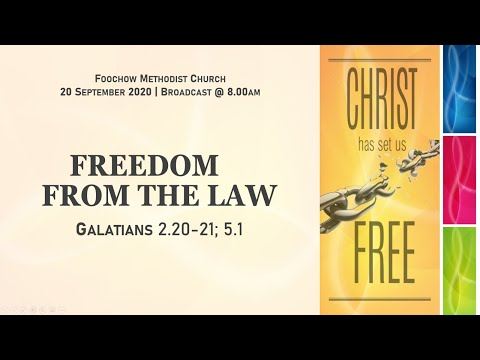 """""""Freedom From The Law""""  - FMC 0800 Eng 20 Sept 2020"""