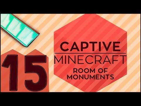 MONUMENTOS COM-PLE-TOS! AEAEA! \o\ /o/ - Captive Minecraft 2 #15