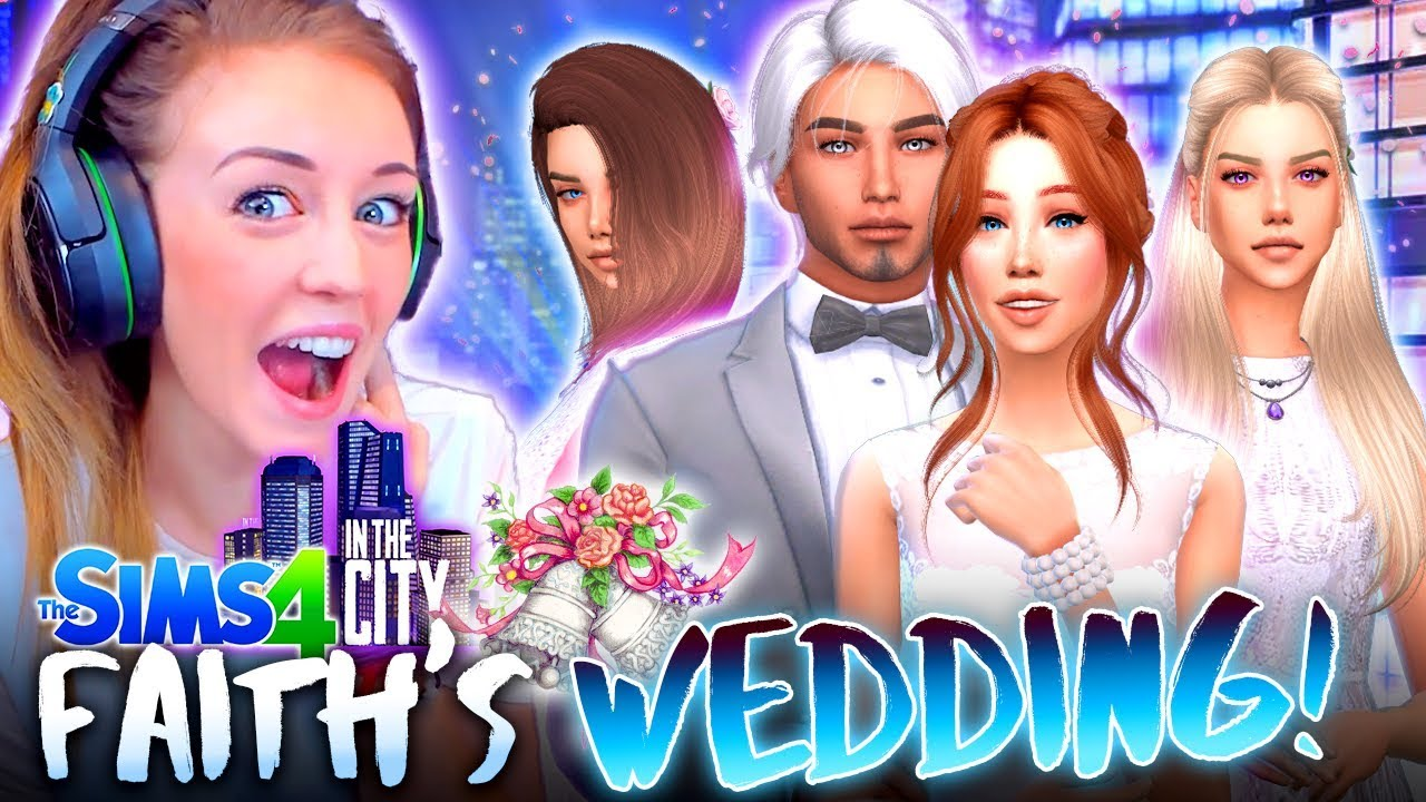 it 39 s faith 39 s wedding the sims 4 in the city 53. Black Bedroom Furniture Sets. Home Design Ideas