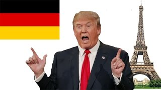 Donald Trump Thinks Paris Is In Germany