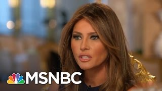 Melania Trump On Her Life, Marriage And 2016 | Morning Joe | MSNBC