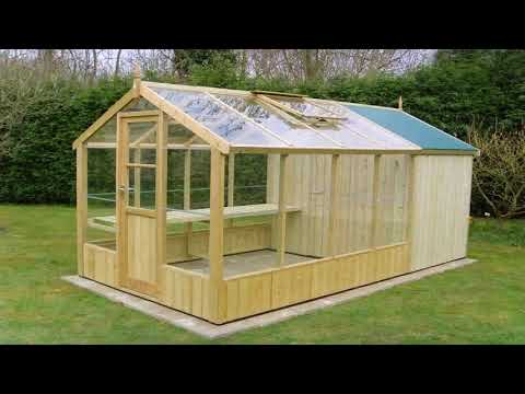 Small Wood Frame Greenhouse Plans