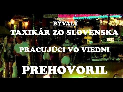 Slovenský taxikár, s 15 ročnou praxou vo Viedni, prehovoril (2017)