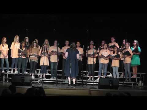 Middle School Choir 2017