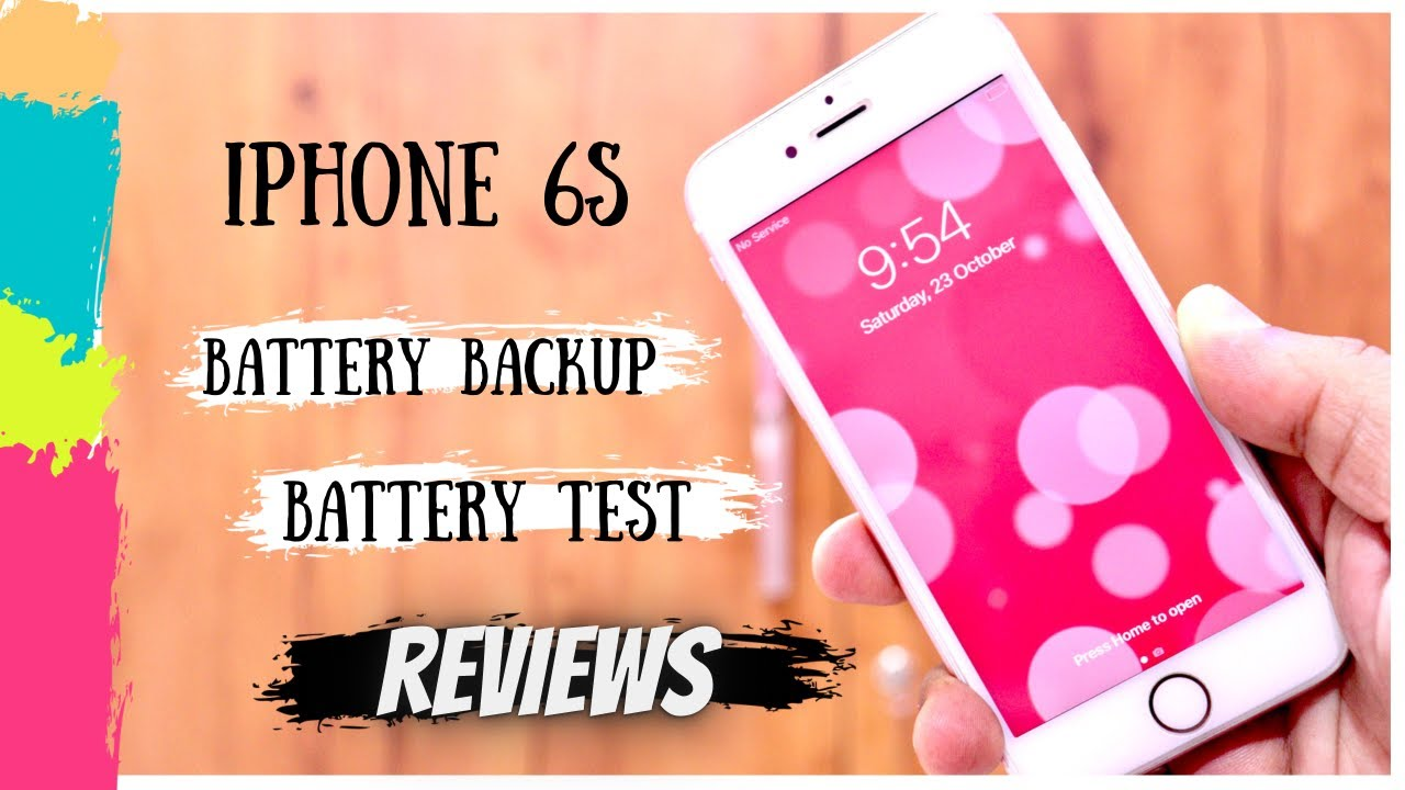 iphone 6s battery life | Battery test | iphone 6s pubg experience