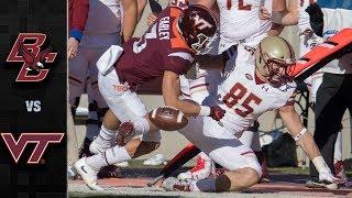 Boston College vs. Virginia Tech Football Highlights (2018)