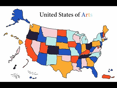 United States of Arts: New Jersey