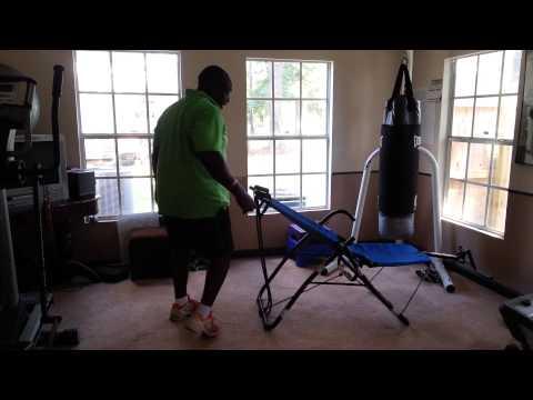 Poor man's Ab Lounger Gym
