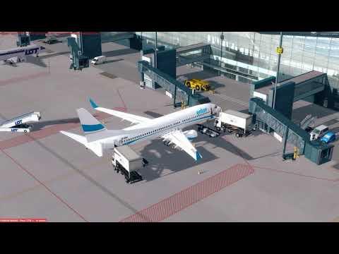 [PREPAR3D] Flight Boeing 737-800 Enter Air EPGD (Gdańsk) - EPML (Mielec)