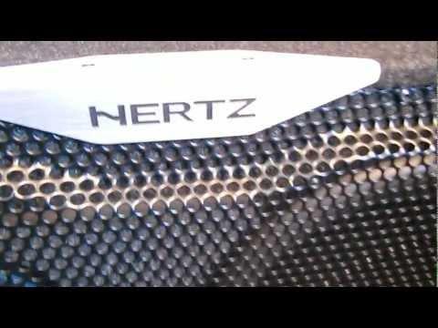 HERTZ EBX F25.5 600Watt Ultra Flat Subwoofer