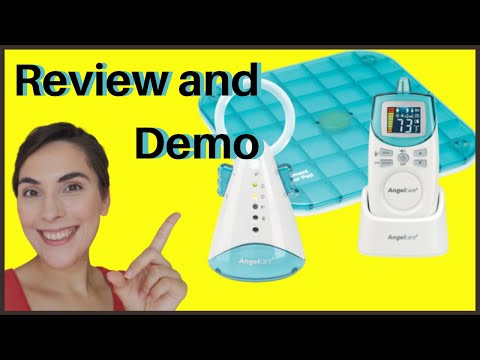 Angelcare Sound And Movement Monitor Review And Demo