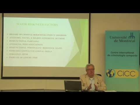 Dr. Robert Hoge - Advances in the Treatment of the Juvenile Offender