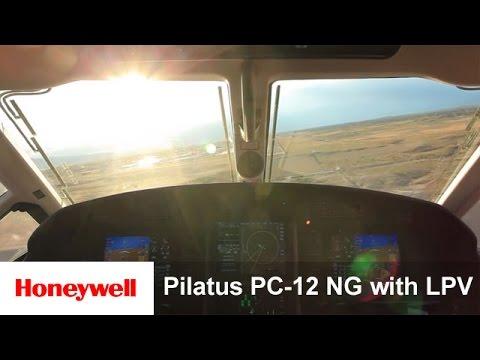 Pilot Training Video: Honeywell Primus Apex® Pilatus PC-12 NG with LPV    Training   Honeywell