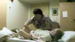 Son Doesn't Trust Sick Mom's Carrier, Sets Up Hidden Camera