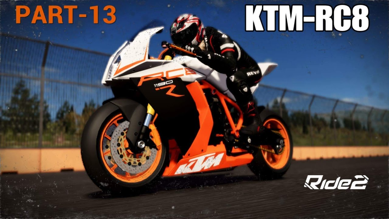 ride 2 ps4 gameplay part 13 ktm rc8 avl on pc xbox. Black Bedroom Furniture Sets. Home Design Ideas